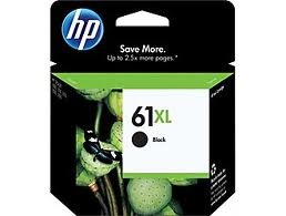 HP 61XL Black Inkjet Print Cartridge
