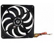 BitFenix Spectre Non-LED 140mm Black Fan, 140x140x...