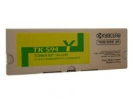 Kyocera TK-594Y YELLOW TONER KIT,YIELD 5K, FS-C202...