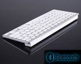 Slimline Bluetooth Wireless Keyboard (Mac layout Keys)