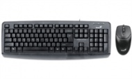 Genius KB KM-110X Value Desktop Keyboard + Mouse C...