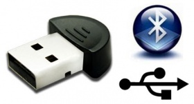 USB Bluetooth Micro Dongle - Bluetooth 2.0, Round