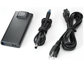 HP 90W Slim Adapter (with USB power port), [BT796A...