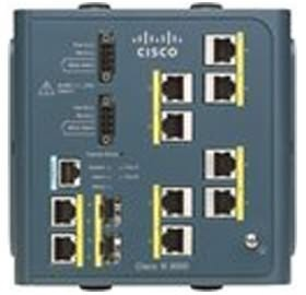 Cisco IE 3000 Switch, 8 10/100 + 2 T/SFP, [IE-3000...