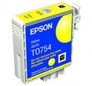 EPSON C59 YELLOW INK CARTRIDGE, [C13T075490] for T...