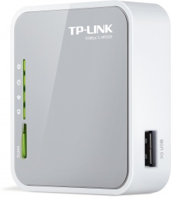 TP-Link 150Mbps Portable 3G Wireless N Router, Powered by power adapter or USB, Internal antenna