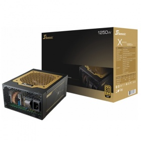 1250W Seasonic X-Series PSU - 80Plus Gold, [PSUSEAX1250WMGD]