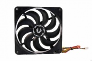 BitFenix Spectre Non-LED 120mm Black Fan, 120x120x...