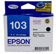 EPSON EXTRA HIGH CAPACITY BLACK INK FOR T40W,TX600...