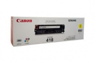 CANON YELLOW CARTRIDGE FOR MF8350CDN, [CART418Y]