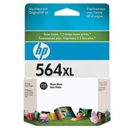 HP 564XL LARGE CARTRIDGE PHOTO BLACK, [CB322WA]
