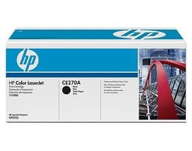HP Color LaserJet CP5525 Black Print Cartride, [CE270A]