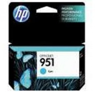 HP 951XL CYAN OFFICEJET INK CARTRIDGE, [CN046AA]