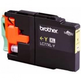 Brother YELLOW YIELD INK CARTRIDGE LC77XLY| For MFC-J6510DW/J6710DW/J6910DW - UP TO 1200 PAGES
