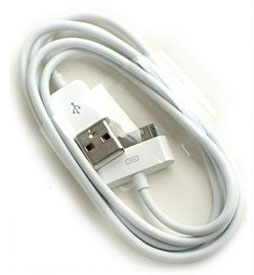1 meter USB Data Sync / Power Cable for iPhone, iP...
