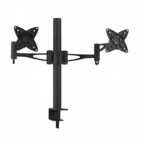 Brateck Dual (2) LCD Monitor Table Stand w/Arm &am...
