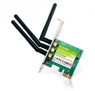 TP-Link 450Mbps Wireless N Dual Band PCI Express Adapter, Atheros, 3T3R, 2.4GHz/5GHz, [TL-WDN4800]