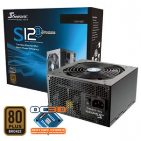520W Seasonic S12II Bronze Power Supply, [PSUSEAS1...