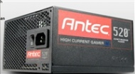 520W Antec High Current Gamer Modular Power Supply, 80 PLUS Bronze, 135mm fan, High Current +12V rail(s), 2x PCI-E, 6x SATA, 6x Molex, [0-761345-10765-5]