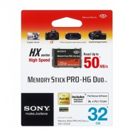 32GB SONY Memory Stick Pro-HG Duo HX Rev.B 50M/s