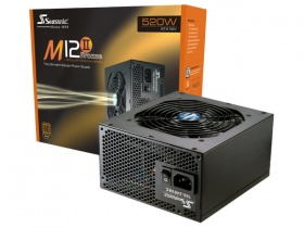 520W Seasonic M12II Bronze Modular PSU