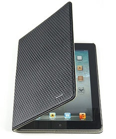 RichBoss High Quality Leather Case for The new iPad 3 -  Black, OEM