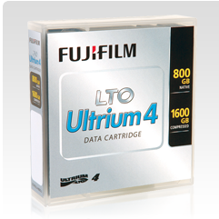 FUJIFILM LTO4 - 800GB/1.6TB  DATACARTRIDGE