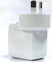Huntkey USB Charger Travel Adapter with AC Plugs f...