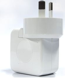 Huntkey USB Charger Travel Adapter with AC Plugs for AiPad /iPod/iPhone