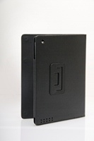 Amaze iPad2/The New iPad (iPad 3) Protective Leather Case, BLACK Colour