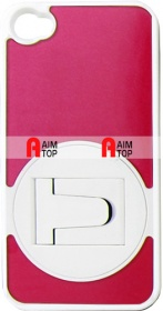 iPhone 4 / 4S Case with Standard - Red White