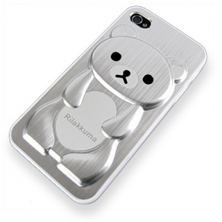 VIVA iPhone 4 / 4S Case - Silver