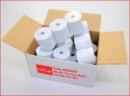 Thermal Paper Rolls 80 x 80mm (Box 24)