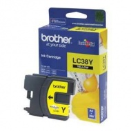 BROTHER LC-38Y ORIGINAL YELLOW INKJET CARTRIDGE