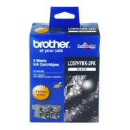 BROTHER LC-67BK ORIGINAL BLACK INKJET CARTRIDGE TW...