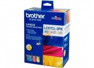 BROTHER LC-67HY-C/M/Y ORIGINAL INKJET CART 3 PACK ...
