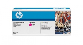 HP CLJ CP5220 MAGENTA PRINT CARTRIDGE WITH COLORSPHERE TONER, [CE743A]
