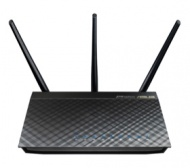 ASUS RT-AC66U, AC1750 802.11ac Dual-Band Wireless-...