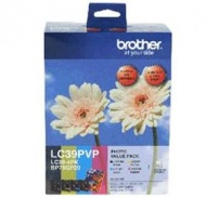 Brother Black & Colour LC39PVP for BP71GP20 (4...