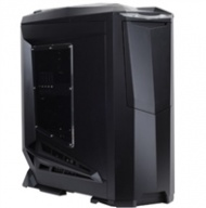 "SilverStone ""Raven series"" RV01B-W-USB3 ATX Tower Case, Black with window."