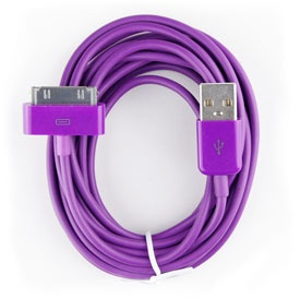 3 meters USB to Dock Cable, Data Sync / Charger fo...