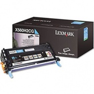 Lexmark X560H2CG CYAN TONER YIELD 10,000 PAGES FOR...
