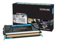 Lexmark X748H1CG CYAN HIGH YIELD 10K TONER RETURN ...