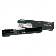 Lexmark X950X2KG Black Toner Cartridge - 3 8K