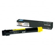 Lexmark X95X Yellow Toner Cartridge - 24K