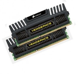 16GB Corsair (2x8GB) Vengeance DDR3 1600MHz CL9 DIMM Memory for for 2nd and 3rd generation Intel Core systems