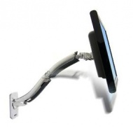MX Wall Mount LCD Arm Polished aluminium