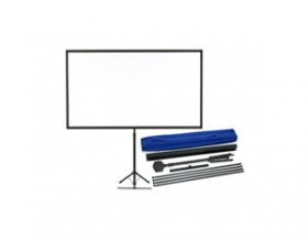 "EPSON ELPSC21B 80"""" 16:9 PORTABLE TRIPOD PROJECTOR SCREEN INCL SHOULDER BAG EPSON"