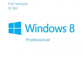 Microsoft Windows 8 Professional 32 bit OEM Full Version for fresh installation