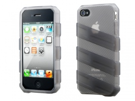 iPhone 4/4S Claw Case -Light Grey (Translucent)